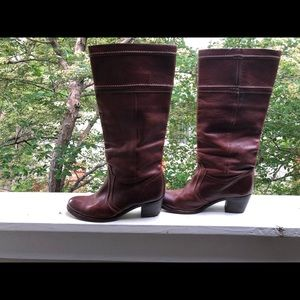Frye Shoes - Brown leather Frye boots